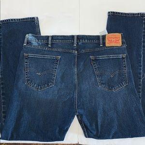 Levi's  505 blue jeans - 42x32